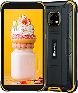 "Blackview BV4900 PRO (2020), 5,7""Android 10 4G Robuuste Mobiele Telefoon, 4 GB RAM 64 GB ROM, 13 MP + 5 MP Waterdichte Cam..."
