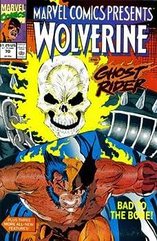 Marvel Comics Presents #70   Wolverine Ghost Rider Shanna Daredevil & Black Widow  Marvel Comics