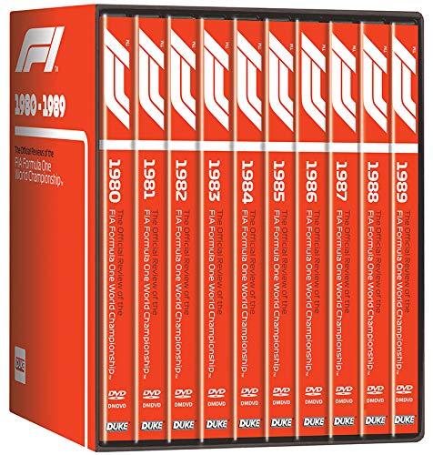 F1 1980-89 (10 DVD) Box Set
