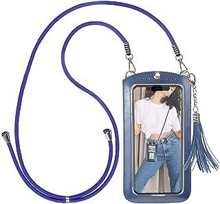 takyu Handytasche zum Umhängen, kleine Damen Crossbody Umhängetasche für Handy