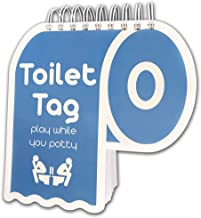 Toilet Tag - Hilarious Game for Couples Who Share The Same Potty - Relationship Conversation Starter - by Infinite Games