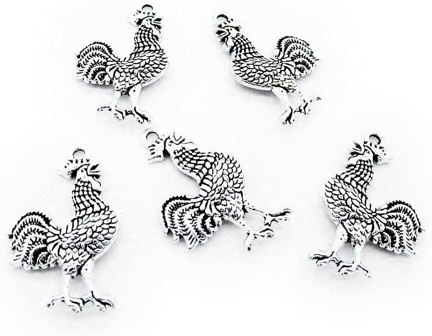 410 Pieces Antique Our shop most popular Silver Tone Supply Whol Charms Jewelry Making wholesale