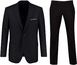 Keskin Men's Suit Black Business Slim Fit