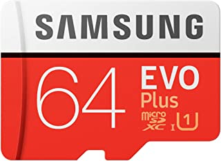 Samsung EVO Plus マイクロSDカード 64GB microSDXC UHS-I U1 100MB/s Full HD Nintendo Switch 動作確認済 MB-MC64HA/EC 国内正規保証品