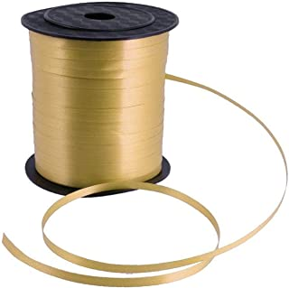 Party Propz 1pc Golden Curling Ribbons for Raman/ Eid Party Decorations - Golden Curling Ribbons for Eid Al Fitr Decoratio...