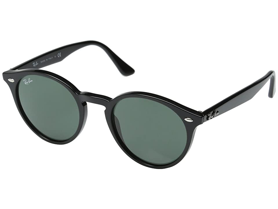 Ray-Ban RB2180 49mm (Black/Gray Green) Fashion Sunglasses
