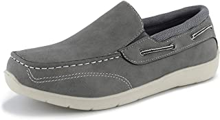 Hawkwell Kids Boys Loafers Casual Boat Shoes Toddler//Little Kid