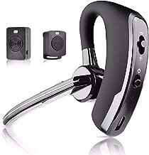 Fumei Walkie Talkie Bluetooth Headset and Wireless Talkie Dongle Adapter Wireless Finger PTT Key for Kenwood Baofeng HYT 2PIN K-Plug Two-Way Radios