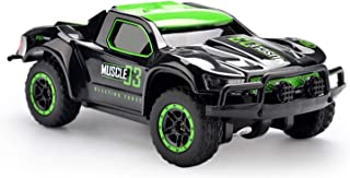 Chilartalent Remote Control Car for Kids - RC Truck 1:43 Scale 9MPH High Speed with 2.4GHz Radio Controller Great Gift for Boys and Girls (Green)