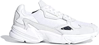 Falcon W White/Crystal White Mesh 5 M US Women