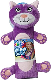 Cloudz Kids Plush Seat Belt Buddy Travel Pillow Seat Belt Cover - Cat