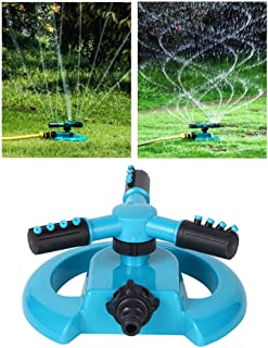 Practical Garden Sprinkler, Watering Equipment, Durable Rotating Sprinkler, for Garden Watering Easy to Use with a Large C...