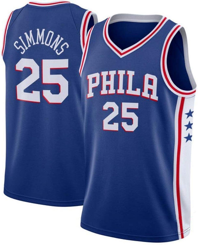 promociones emocionantes Ben Ben Ben Simmons  25 Camiseta De Baloncesto para Hombre - NBA Philadelphia 76ers Camiseta De Baloncesto Swingman Sin Mangas De Deporte para Hombre  estilo clásico