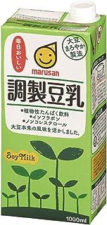 マルサン 調製豆乳 1L×6本