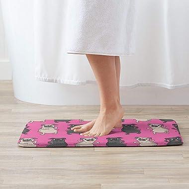 Decorative Doormat Home Decor Funny Dogs Welcome Indoor Outdoor Entrance Bathroom Floor Mats Non Slip Washable Mat, 23.6 x 15