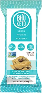 Bhu Keto Chocolate Chip Cookie Dough Protein Bar - 8 Units