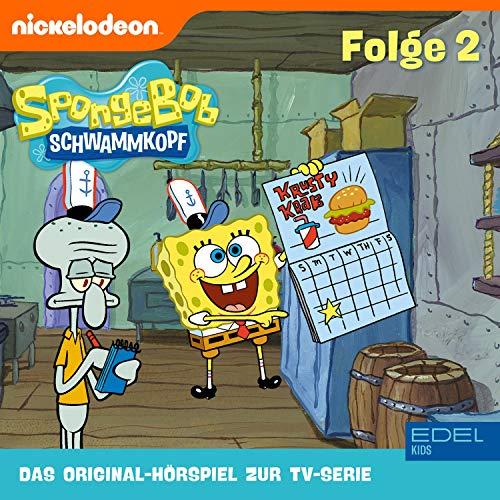 SpongeBob Schwammkopf 2. Das Original-Hörspiel zur TV-Serie Titelbild