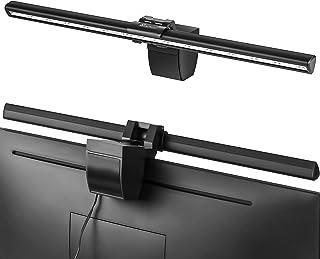 Vansky クランプライト モニター掛け式ライト クリップ式 ライト クリップライト デスクライト 目に優しい 三段階調光 角度調節可能 USB充電可 PC作業/仕事/寝室/卓上/読書/譜面台/ピアノ/オーケストラピットに対応