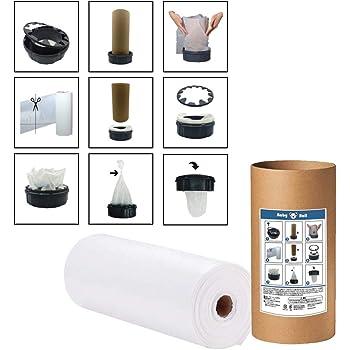 紙おむつ処理ポット詰替え用ロール200M コンビポイテックスペアカセット、スマートポイスペアカセットと互換性あり
