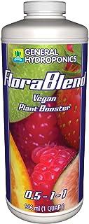 General Hydroponics Flora Blend-Vegan Compost Tea Fertilizer, 1 Qt.