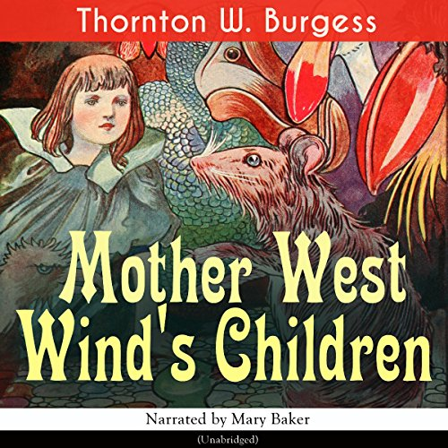Mother West Wind's Children audiobook cover art