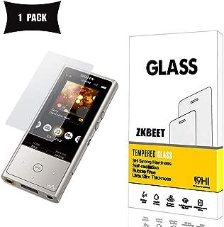 Sony Walkman NW-ZX100 ガラスフィルム,強化ガラス液晶保護フィルム 【ZKBEET】 (硬度 9H,Glass)Sony Walkman NW-ZX100スムースタッチ 撥水・防水 防指紋 耐衝撃 耐久性 撥油性 高透過率 超薄 HD画面 [ 日本製硝子 ] [ 約3倍の強度 ] Sony Walkman NW-ZX100