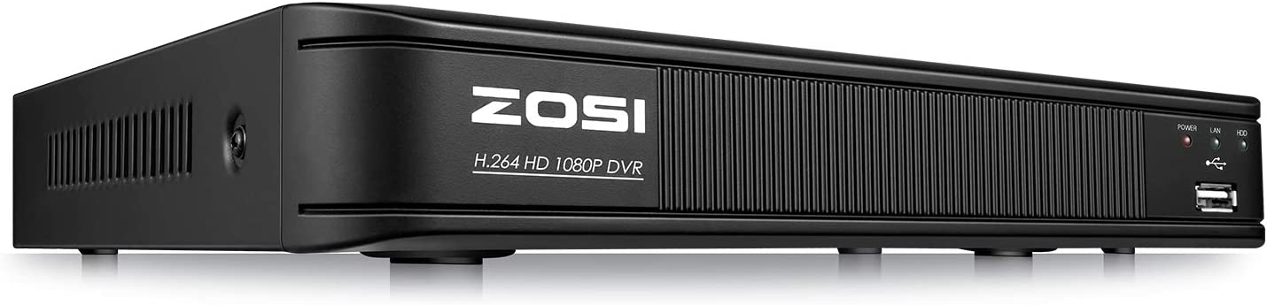 ZOSI 1080p Security DVR Recorder Direct sale of manufacturer Hybrid Capability 4- 4 Detroit Mall Channel