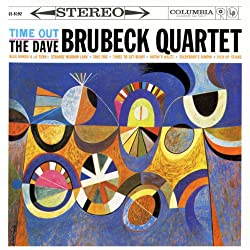 CD-Cover von Take Five vom Time out The Dave Brubeck Quartett