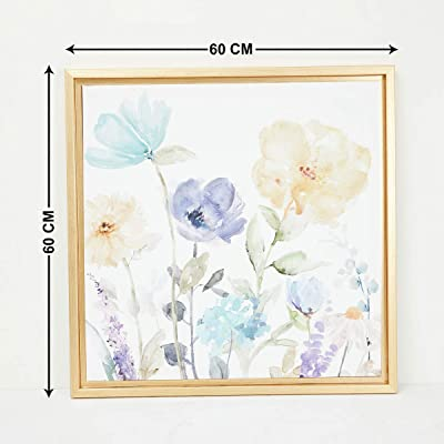 Home Centre Artistry Molly Floral Picture Frame - 60 x 60 cm