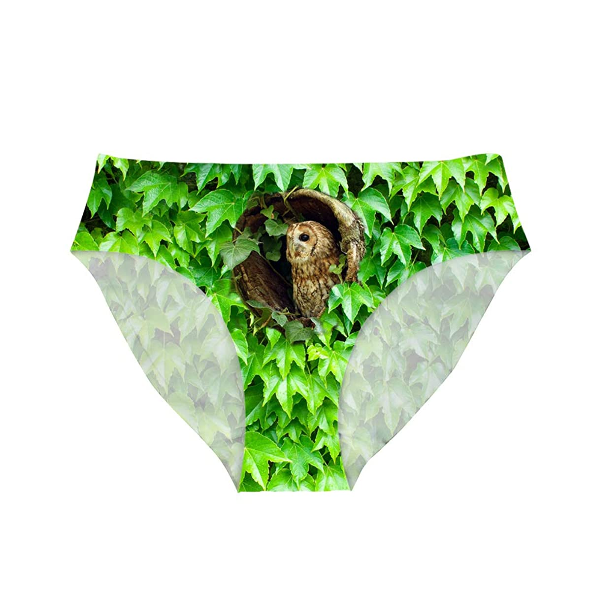 Showudesigns Hipster Panties Seamless Underwear Women Soft Briefs Animal Print