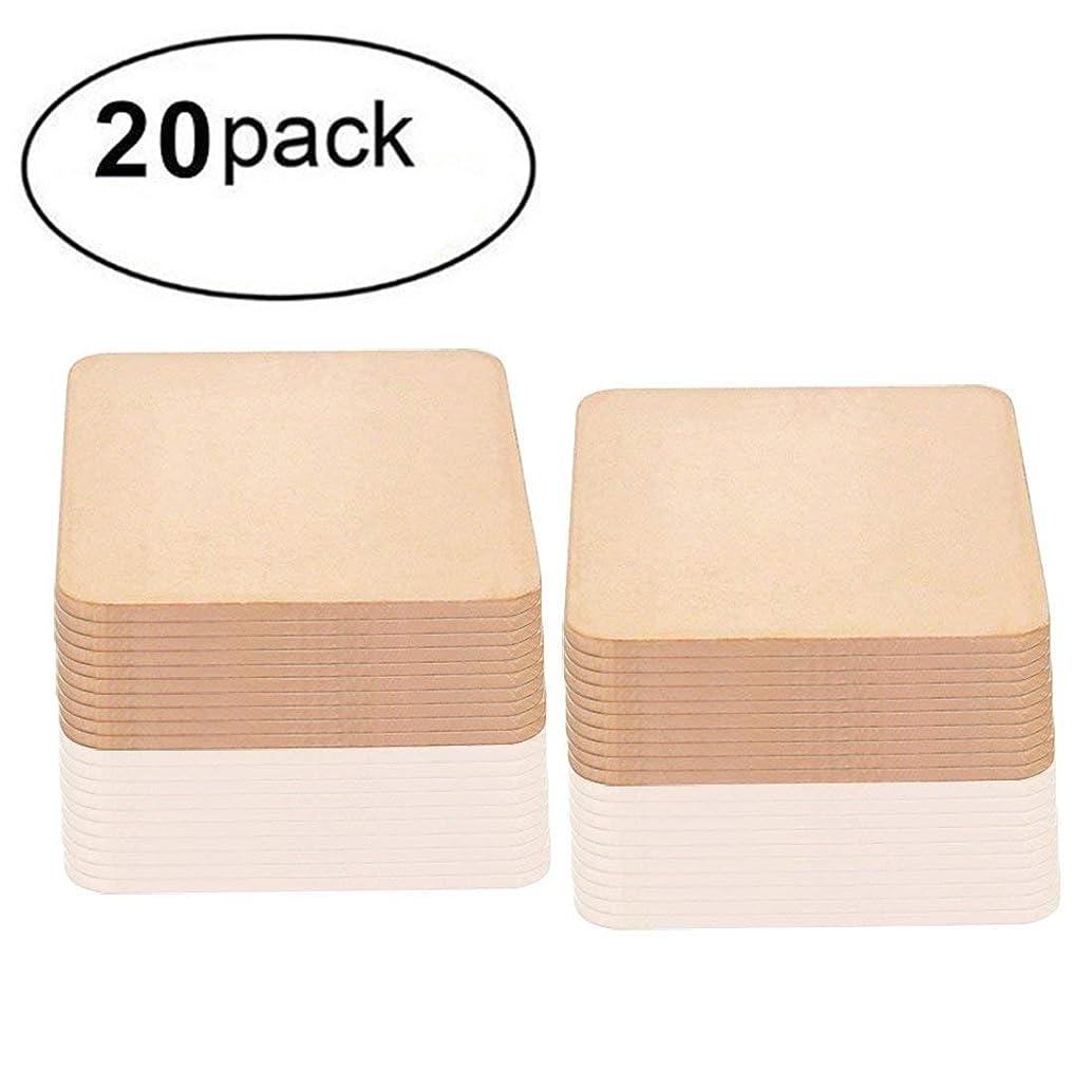 20 Pack IC Chipset GPU CPU Thermal Heatsink Copper Pad Shim Size 20 x 20 x 1.2mm