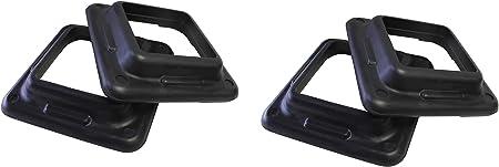 Aerobic Step Ader 44 Original Health Club Step Platform with Risers Gym Class Step