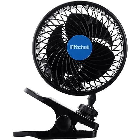 Auto Kfz Lüfter Intsun 6 Zoll Auto Ventilator Mit Clip Gebläse Klimaanlage Fan Vertikal Und Horizontal Einstellbar Ventilator Car Clip Fan Leistung 9w 12v Auto
