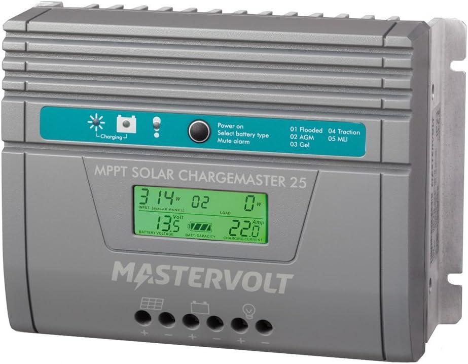 Mastervolt SCM25 MPPT - Regulador de carga solar (25 A, 12 V, 24 V)