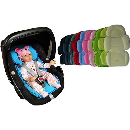 Letton Verstellbares Kopf Und Körperstützkissen Abnehmbare 2 In 1 Babykopf Körperstütze Weiches Kissen Baby Stützkissen Für Kinderwagen Autositz Baby