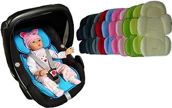 Sweet Baby ** SOFTY MAXI AZUL CLARO ** Cojín reductor para silla de bebé/Protector de cuerpo para coche (0-12 meses)