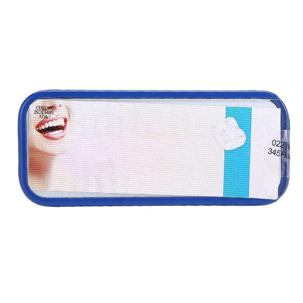 摂氏バドミントン同性愛者Nitrip セラミックブラケット 歯科矯正ブラケット 歯科矯正装置 歯科矯正用 022MBT 345Hooks