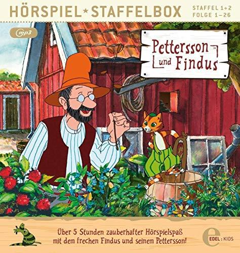 Pettersson und Findus - Staffelbox 1 + 2 (mp3-CD) - Das Original-Hörspiel zur TV-Serie
