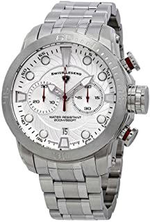 Swiss Legend Seagate Chronograph Silver Dial Watch SL-10624SM-22S