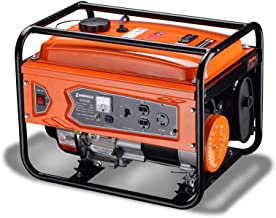 Greenvelly Generator 3300 Watts Super Quiet Muffler Gas Powered RV-Ready Portable CARB Compliant with Wheel Kit
