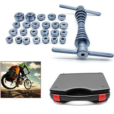 25 Stück Fahrrad 1 Satz Fahrradlager Pressensatz Montagewerkzeug Mit Koffer