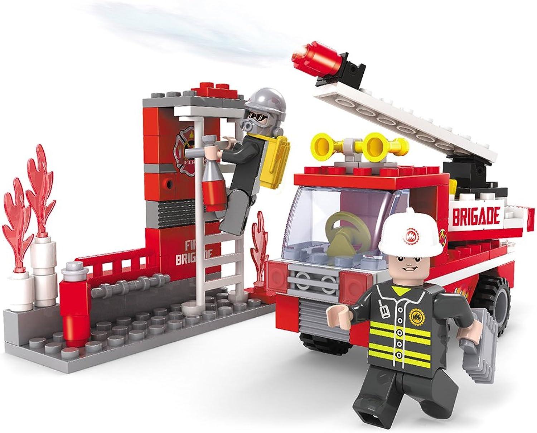 Brictek 21305 Fire Truck Simulator