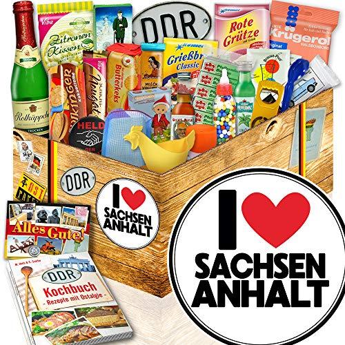 I Love Sachsen-Anhalt ++ Sachsen-Anhalt Geschenk ++ 24er DDR Geschenk