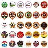 Custom Variety Pack Single Serve for Keurig K Cup Sampler, 30 Count