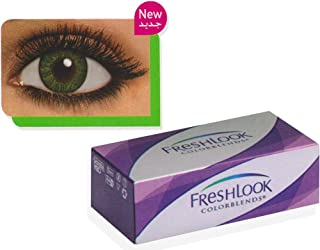 Fresh Look Gemstone Green/Color Blends Monthly Colored Cosmetic Contact Lenses