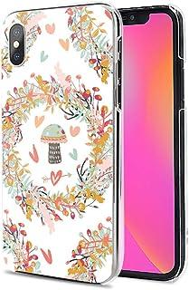 Huawei P40 Pro 5G ケース カバー スマホケース ハード TPU 素材 おしゃれ かわいい 耐衝撃 花柄 人気 全機種対応 花がキノコを囲む ファッション フラワー シンプル 9793950