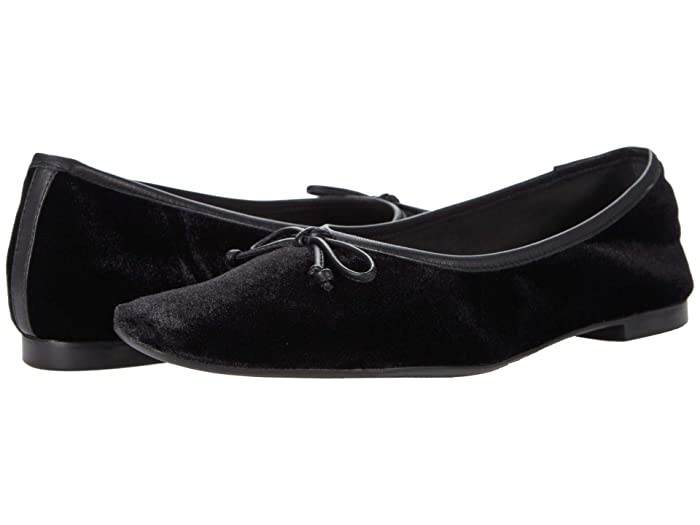 Retro Vintage Flats and Low Heel Shoes Schutz Arissa Black 1 Womens Shoes $88.00 AT vintagedancer.com