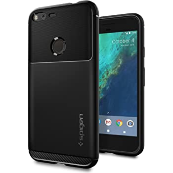 Spigen Rugged Armor Designed for Google Pixel XL Case (2016) - Black