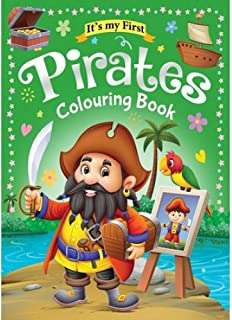 Colouring Book 64 Pages size 28 X 21.6 cm Made in Malaysia (Pirates)