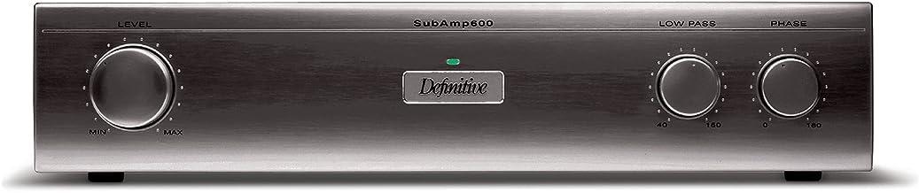 Definitive Technology in-Wall Subamp 600 120V Amplifier (Single, Black)